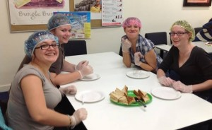 Sterling Business College Childcare - preparing food for children